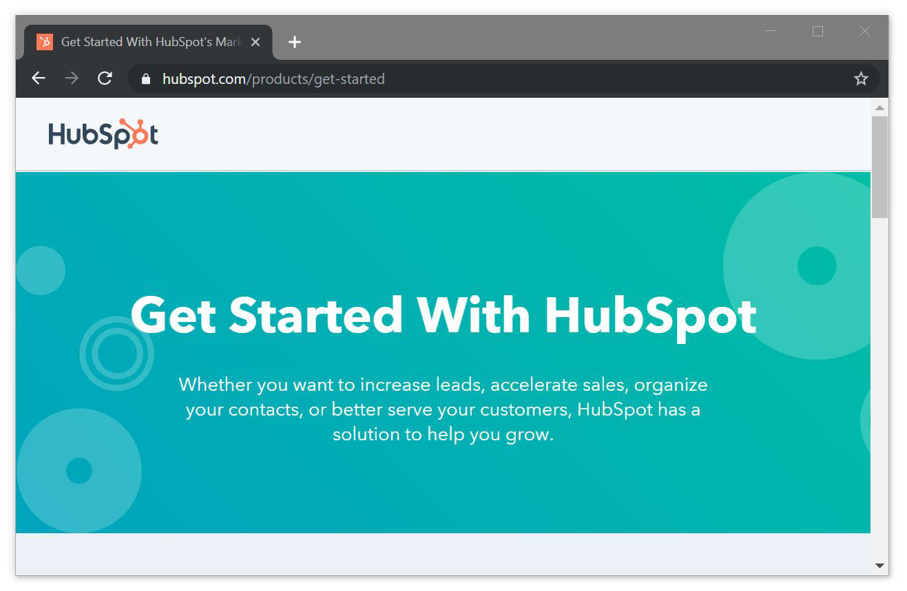 Get Started with HubSpot