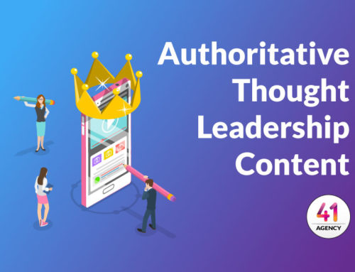 Stay Competitive With Authoritative Thought Leadership Content