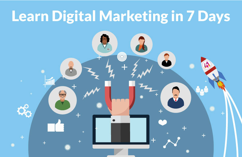 Learn Digital Marketing 7 Days