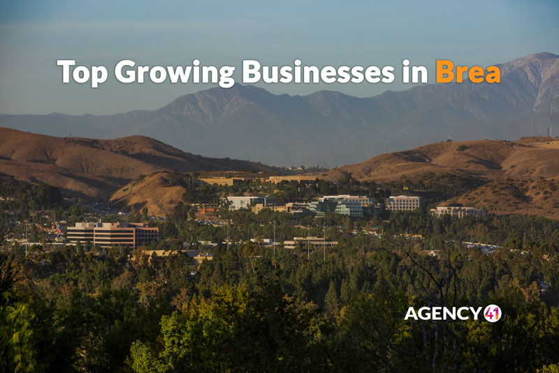 Top Growing Businesses in Brea