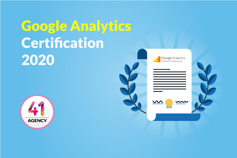 Google Analytics Certification 2020
